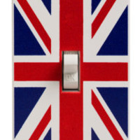 BBC America Shop - Union Jack Light Switch Plate