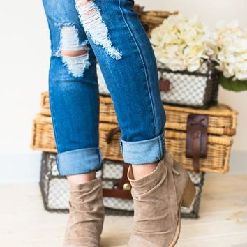Callie Slouchy Bootie