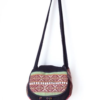 Crossbody Bag KILIM Boho Hippie Vintage Bag Turkish Tapestry Purse