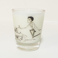 Corpse Bride Candle - Soy Shot Glass Candle - Victor