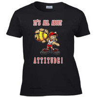Ladies Fastpitch Softball Tee Shirt