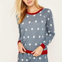 Minkpink Head in the Stars Pyjama Top - Urban Outfitters