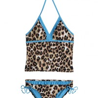 Cheetah Print Tankini Swimsuit | Girls Swimwear {parent_category} | Shop Justice