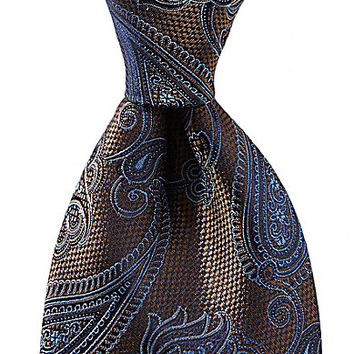 Cremieux Background Paisley Silk Tie