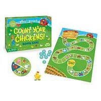 Peaceable Kingdom Count Your Chickens Award Winning Cooperative Game for Kids