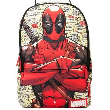 Marvel Deadpools Blurbs Backpack (SPRAYGROUND)