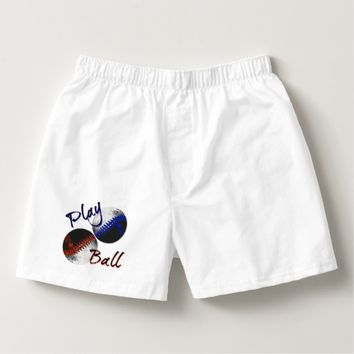 Play Ball Boxers