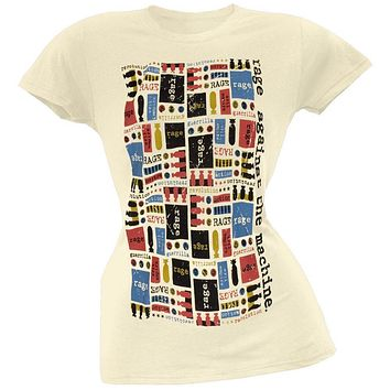 Rage Against The Machine - Bomb Collage Juniors T-Shirt