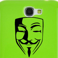 Anonymous Car Window Laptop iPad Notebook Decal Sticker BLACK