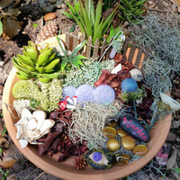 Fairy Garden Kit, Fairy Garden Supplies, Fairy Kits, Fairy House Kit, Miniature Garden Supplies, Terrarium Kit, Miniature Garden Items, Fae