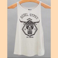 Billabong 🌊 Rebel Gypsy Tank Top Shirt. NEW!
