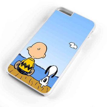 Snoopy And Charlie Brown Christmas Lights Apple iPhone 6s Plus Case iPhone 6s Case iPhone 6 Plus Case iPhone 6 Case