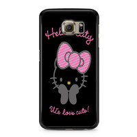 Hello Kitty We Love Cute Samsung Galaxy S6 Case