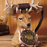 Deer Wildlife Telephone