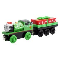 Thomas & Friends Wooden Railway: Holiday Percy and Present Car