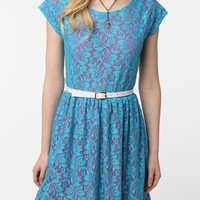 Lace & Jersey Gibson Dress