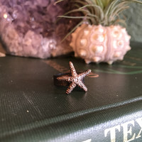 Starfish Ring Size 5.5