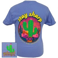 Girlie Girl Originals Stay Sharp Cactus T-Shirt