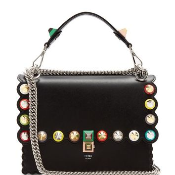 Kan I leather shoulder bag | Fendi | MATCHESFASHION.COM UK