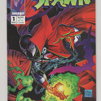 Spawn; V1, 1. NM+. May 1992.  Image Comics