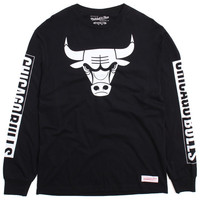 Chicago Bulls Free Throw Longsleeve T-Shirt Black