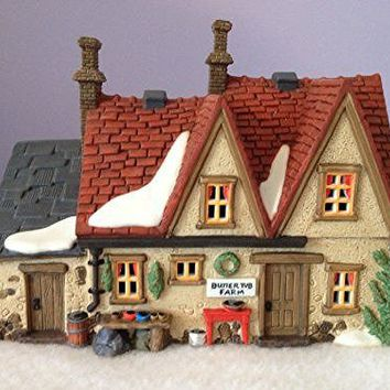 """Department 56 """"Butter Tub Farmhouse"""" Retired Dickens Village Series"""