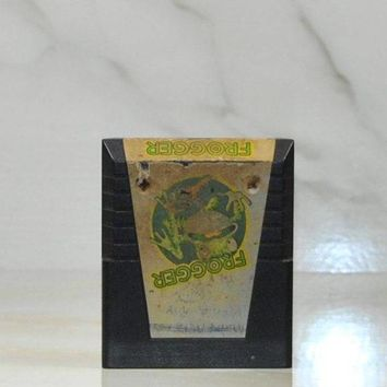Atari 2600 Frogger Game From Parker Brothers 1982