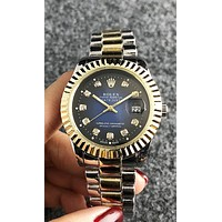 Rolex 2019 new automatic mechanical high-end men and women models simple quartz watch 2