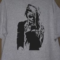 SKELETON LADY TSHIRT Gothic Skull Woman Shirt
