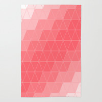 Triangle Coral Rug by Beautiful Homes