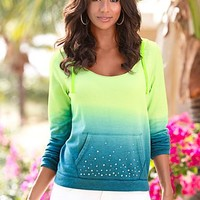 Sparkling Ombre Hoodie