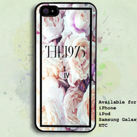 the 1975 vintage flower - iPhone 5c 5s 5 4 4s Case - iPod 5 4 Case - Samsung Galaxy s5 s4 s3 - Htc one One X Case