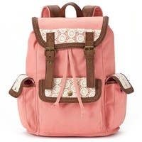 Candie's Anna Crochet Backpack (Orange)