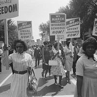 Civil Rights March Washington DC 1963