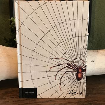 Natural History Museum Spider Notebook
