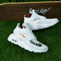 "Nike Air Huarache X OFF WHITE ""all white"""