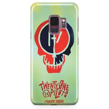 Twenty One Pilots Skeleton Clique Samsung Galaxy S9 Plus Case | Casefantasy