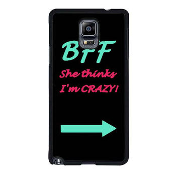 best friend bff couple left samsung galaxy note 4 note 3 2 cases