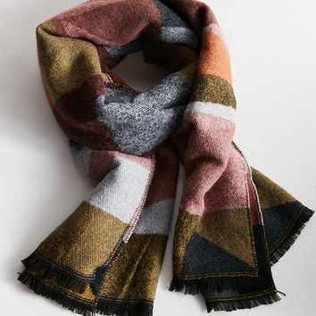 Southwestern Woven Blanket Scarf | Urban Outfitters