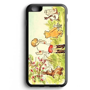 Custom Case Winnie The Pooh Illustration for iPhone Case & Samsung Case