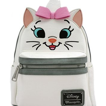Loungefly X Disney Aristocats Marie Big Face Mini Festival Backpack