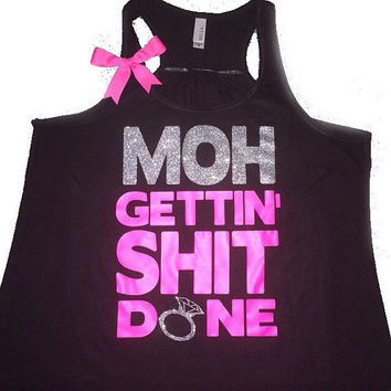 Maid Of Honor - Ruffles with Love - Sweating for the Wedding - Wedding Tank