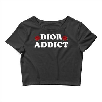 Dior Addict Crop Top