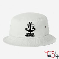 Boats N Hoes bucket hat