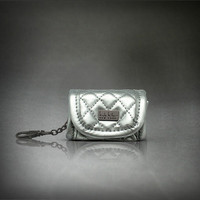 Nicole Miller: Quilted Bag Dispenser Silver, at 40% off!