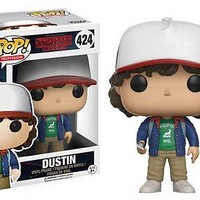 Funko Pop TV: Stranger Things - Dustin Vinyl Figure