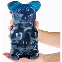 World's Largest Gummi Bear - Blue Raspberry Net Wt. 5LBS