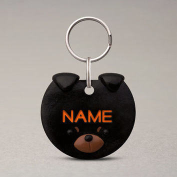 Rottweiler Dog ID Tag - Fun Dog Accessories, Name Tag For Dogs, Custom Collar Tag