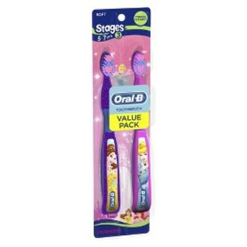 ORAL B® Stages™ Toothbrush - 2 Count