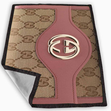 gucci wallet pink Blanket for Kids Blanket, Fleece Blanket Cute and Awesome Blanket for your bedding, Blanket fleece *